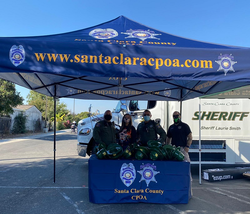 SCCCPOA helps make Halloween sweet at Santee Elementary
